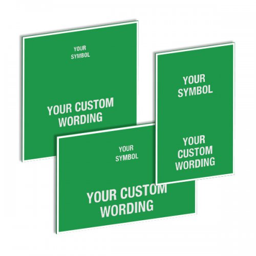 Custom Safe Condition Signs - St  Bernard's Health and Safety Institute